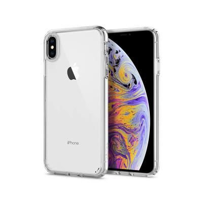 SILICONE CASE IPHONE XS MAX TRANSPARENT