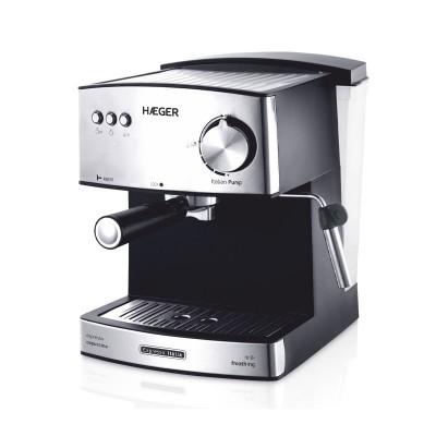 Máquina de Café Haeger Expresso EXP.850W.15B. Italia Prateado (CM85B009A)