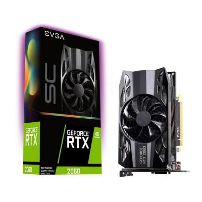 Graphics Card EVGA GeForce RTX 2060 SC Gaming 6GB GDDR6