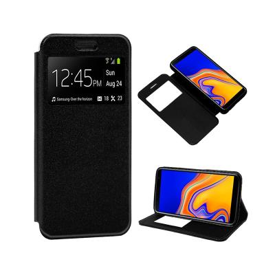 Funda Flip Cover Samsung J4 Plus 2018J415 Negro