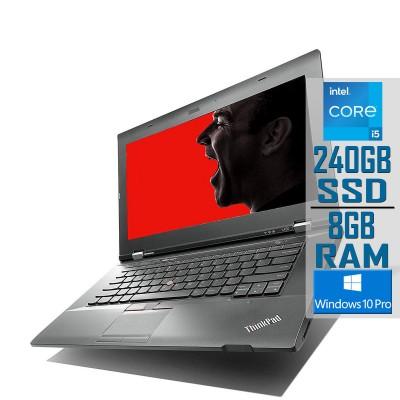 "Laptop Lenovo ThinkPad L430 14"" i5-3320M SSD 240GB/8GB Refurbished"