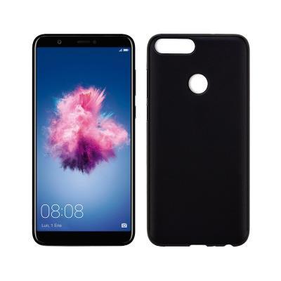 Funda Silicona Huawei P Smart Negra