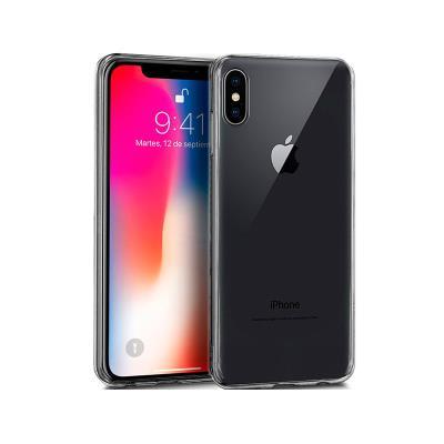 Capa Silicone iPhone X/XS Transparente