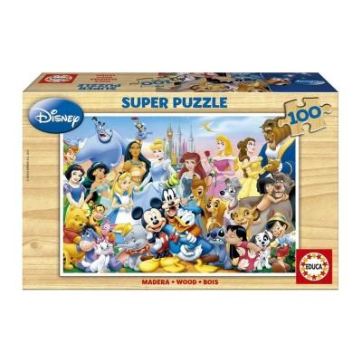Puzzle O Maravilhoso Mundo Disney 100 Peças (12002)
