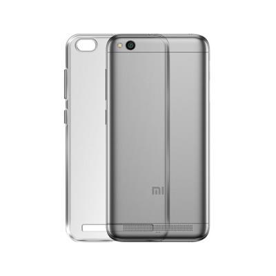 Capa Silicone Xiaomi Redmi 5A Transparente Fosco