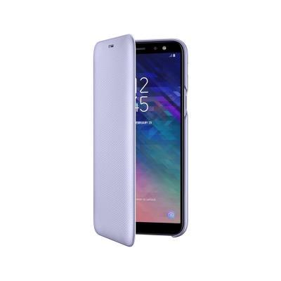 Capa Flip Wallet Original Samsung A6 2018 Violeta (EF-A600CVE)