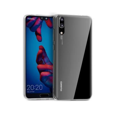 Funda Silicona Huawei P20 Transparente