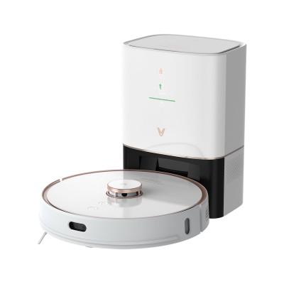Aspirador Robô Viomi Alpha S9 c/Base Inteligente Branco