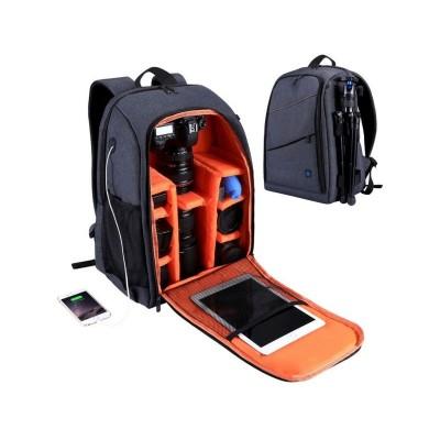 Backpack Puluz para Câmara/Acessórios Grey (PU5011H)