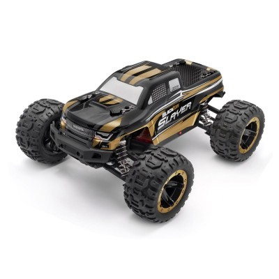 Remote Control Car BlackZon Slayer Monster Truck 4WD Gold