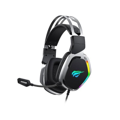 Headset Havit H2018U RGB 7.1 Preto