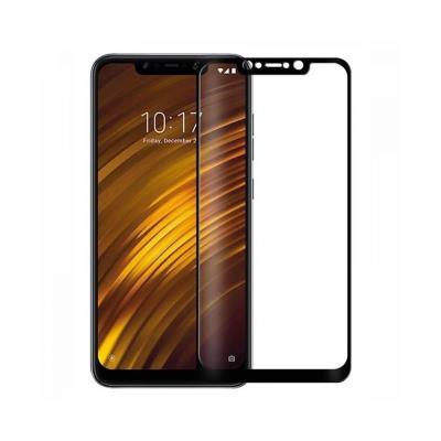 Película de Vidro Temperado Xiaomi Pocophone F1 Fullscreen Preta