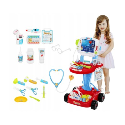 Doctor's Toy w/Cart and Accessories