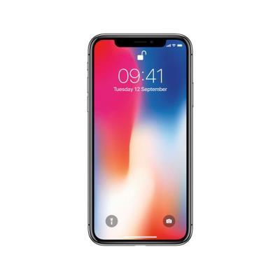 iPhone X 64GB/3GB Cinzento Sideral Usado