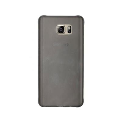 Capa Silicone Samsung S7 Edge Transparente Escuro