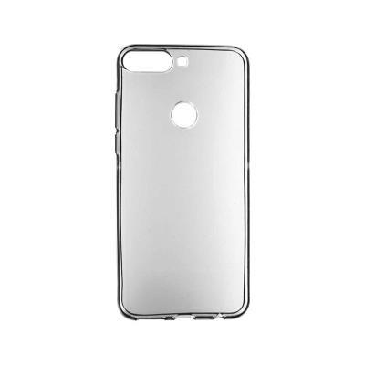 Silicone Case Huawei Y7/Y7 Prime Dark Transparent