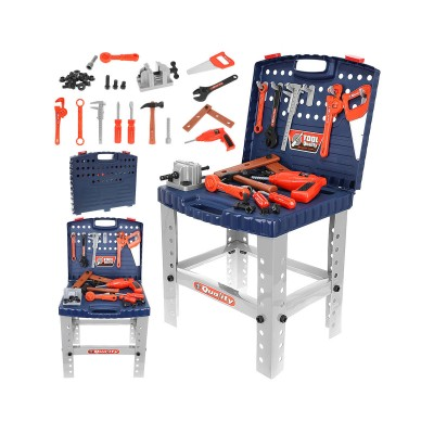 Child's Tool Table Blue/Grey (9422)