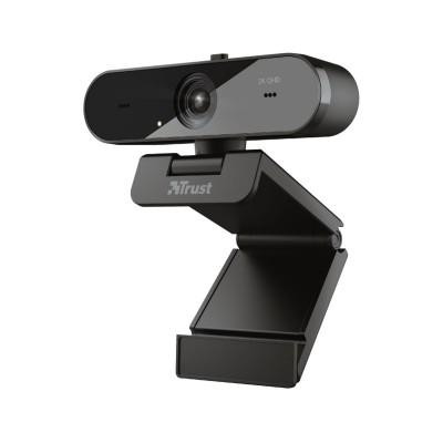 Webcam Trust QHD c/Microfone Preta (TW-250)