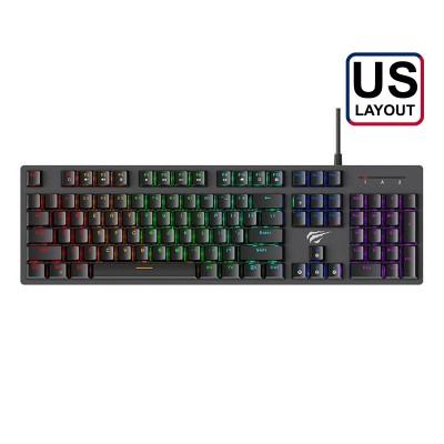 Mechanic Keyboard Havit Gamenote RGB Black