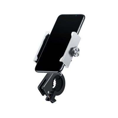 Mobile Phone Holder Baseus for Motorbike/Bike Silver (CRJBZ-0S)