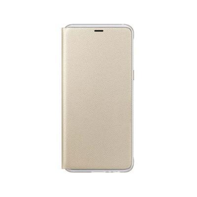 Funda Flip Wallet Original Samsung A7 2018 Dorado