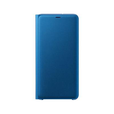 Capa Flip Wallet Original Samsung A7 2018 Azul (EF-WA750PLE)
