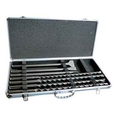 Drills And Chisels Set Makita D-42494 7Bits Grey