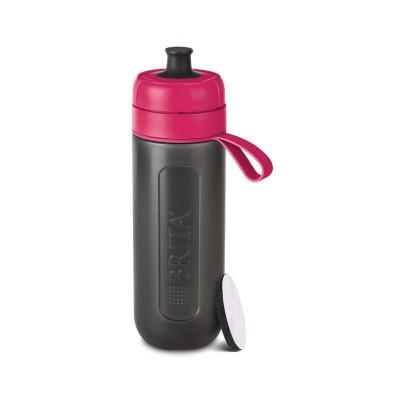Water Purifying Bottle Brita Fill & Go Active Sport 600ml Pink