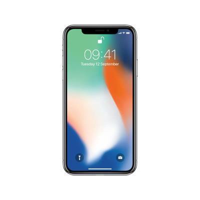 iPhone X 64GB/3GB Prateado Usado Grade B
