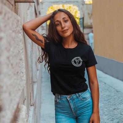 T-shirt You Get Core Preta