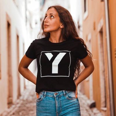 T-shirt You Get Frame Preta
