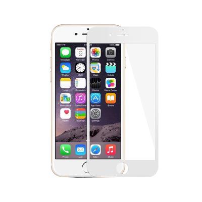 Fullscreen Tempered Glass Film iPhone 6S Plus White