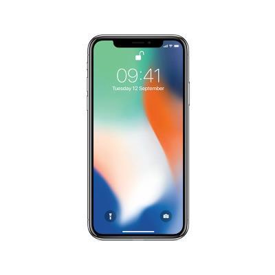 IPHONE X 256GB/3GB PLATA