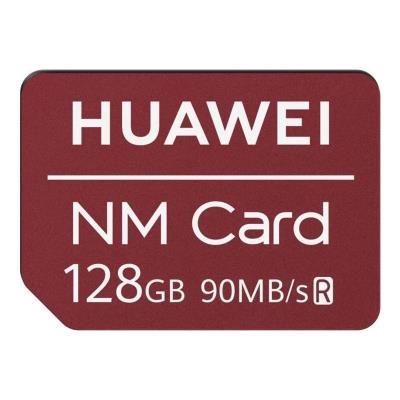 Cartão Memória Huawei Nano 128GB Vermelho