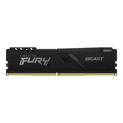 Memória RAM Kingston Fury Beast 16GB DDR4 (1x16GB) 2666Mhz (KF426C16BB1/16)
