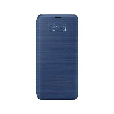 Original Led View Case Samsung Galaxy S9 Blue (EF-NG960PLE)