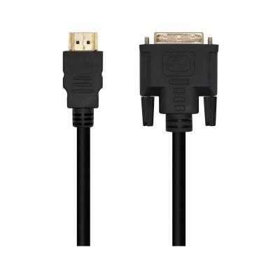 Cabo DVI 18+1 para HDMI Aisens A117-0451 FHD 3m Preto
