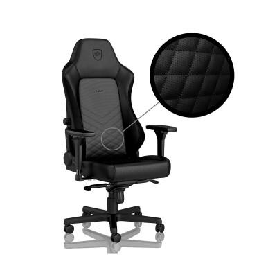 Cadeira Gaming Noblechairs HERO PU Leather Preta (NBL-HRO-PU-BLA)