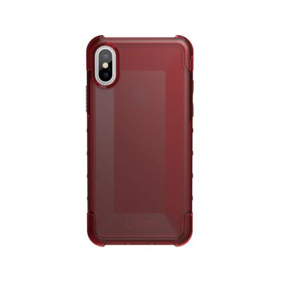 Funda Urban Armor Gear  iPhone X/XS Rojo (Plyo Case Crimson)