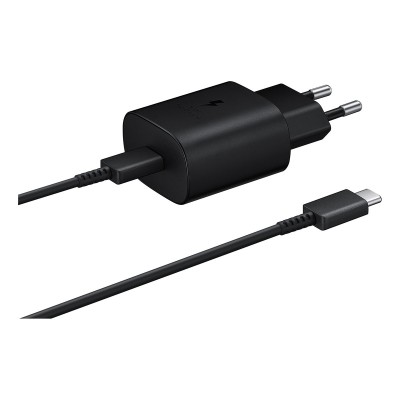 Charger Samsung USB-C Black (EP-TA800EBE/EP-DG980BBE)