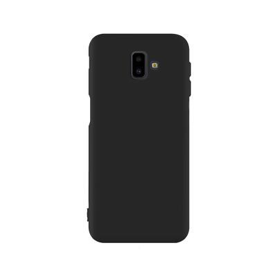 Capa Silicone Samsung J6 Plus 2018 Preta