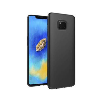 Capa Silicone Huawei Mate 20 Pro Preta