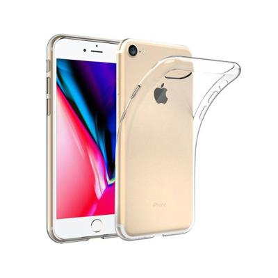 Funda Silicona iPhone 7/8 Transparente