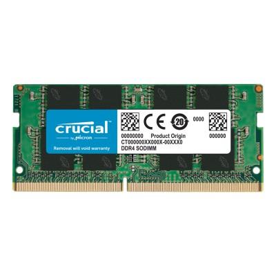 RAM Memory Crucial 8GB DDR4 (1x8GB) 2666MHz (CT8G4SFRA266)