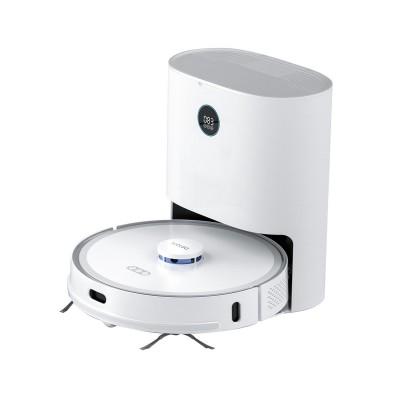 Robot Vacuum Cleaner Xclea H30 Plus Mop w/Smart Base White