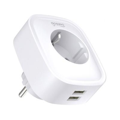 Tomada Inteligente Gosund Wi-Fi SP112 c/2xUSB Branca