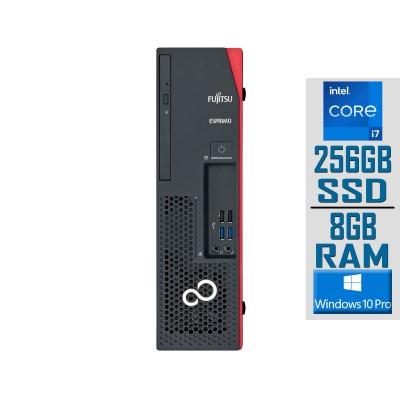 Torre Fujitsu Esprimo D538 i7-9700 SSD 256GB/8GB Preta