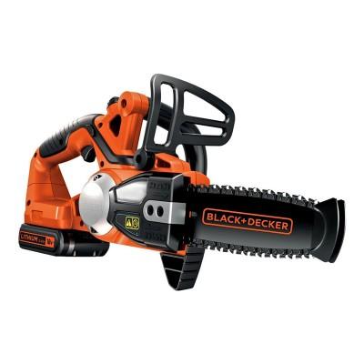 Electric chainsaw Black & Decker GKC1820L20-QW 18V 20cm Black/Orange