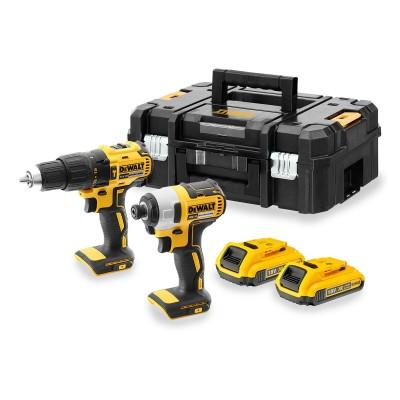 Drill Set DeWALT DCF787+DCD778 18V 2Ah Black/Yellow (DCK2060D2T-QW)