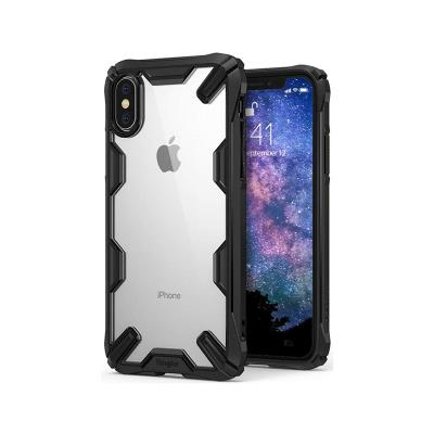 COVER FUSION PROTECTION X IPHONE XS MAX BLACK COVER
